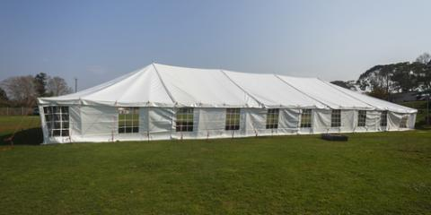 Tent Rental 101: Pole Tents Vs. Frame Tents, Webster, New York