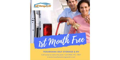1st Month FREE, Texarkana, Texas