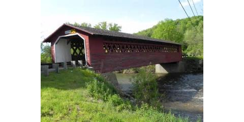 These 14 covered bridges in New England will take you back in time, Wellesley, Massachusetts