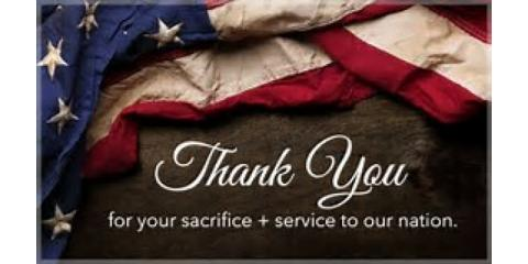 Honoring all who have served past and present on this Veteran's Day!!  Thank you!!, Forked River, New Jersey