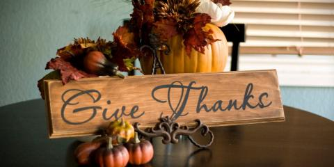 Thanksgiving Closure Notice, , District Of Columbia