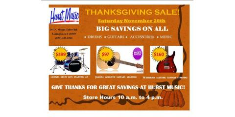Thanksgiving Sale!, Lexington-Fayette, Kentucky