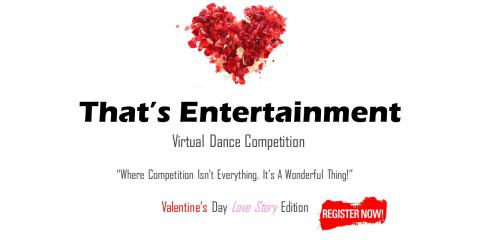 Enter to Win a Valentine's Day Dance Competition at That's Entertainment Performing Arts Competition, Staten Island, New York