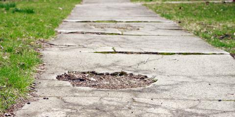 What Are Common Causes of Sunken Concrete?, West Chester, Ohio