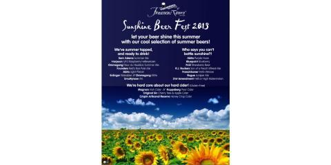 Enjoy Delicious Summer Beers This Month During The Sunshine Beer Festival, Manhattan, New York
