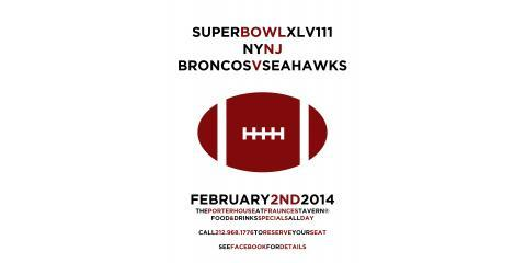 Football Fans Unite! Come to The Best Bar in NYC to Watch The Super Bowl This Sunday, Manhattan, New York