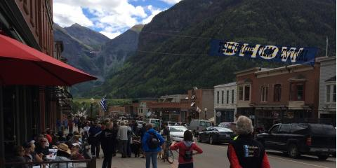 HLF Partner Lulu Flores attends the Telluride Film Festival: AKA The Show, Austin, Texas