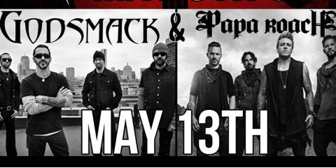 Godsmack & Papa Roach , Rochester, New York