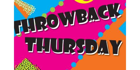 Throwback Thursday Sale At Wax It All, Rochester, New York