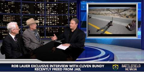VIDEO: CLIVEN BUNDY CONSIDERING RUN FOR SHERIFF OR GOV., ,