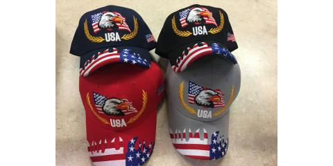 Patriotic Hats On Sale, Minneapolis, Minnesota
