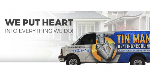 Tin Man Heating & Cooling of Toledo, Air Conditioning Contractors, Services, Toledo, Ohio