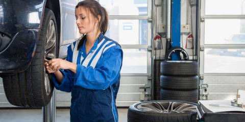 Why Car Tires Develop Cracks, Foley, Alabama