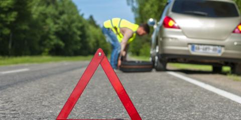 4 Simple Steps to Changing a Tire, Naples, New York