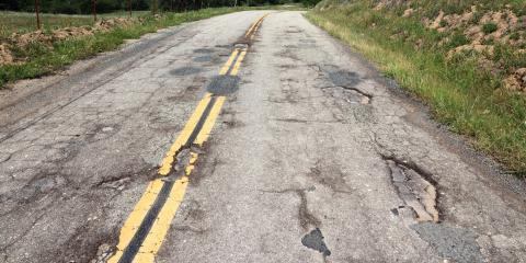 How Can Driving Over Potholes Damage My Vehicle?, Columbus, Nebraska