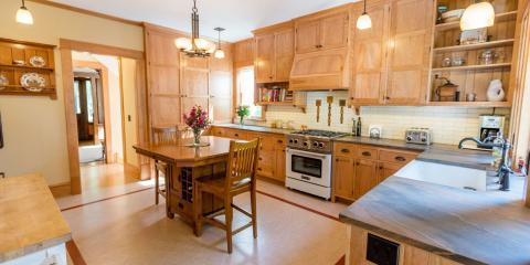 3 Tips to Use Two-Toned Kitchen Cabinets in Your Home - TLC ...