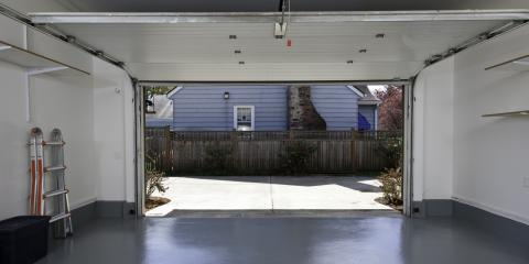 The Top 3 Advantages of Automatic Garage Doors, Tomah, Wisconsin