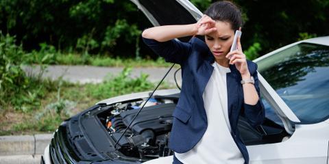3 Common Reasons Cars Break Down, Byron, Wisconsin