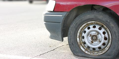What to Do When You Can't Fix Your Flat Tire , Oakdale, Wisconsin