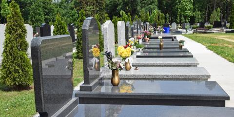 3 Most Popular Granite Memorial Designs, Lexington, North Carolina