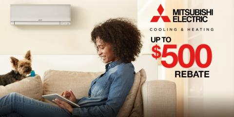 Up To $500 Off of Mitsubishi Electric Systems!, Toms River, New Jersey