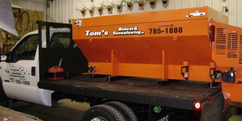 Tom's Bobcat & Snowplowing Inc, Snow Removal, Shopping, La Crosse, Wisconsin