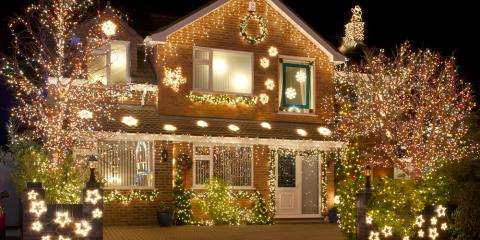 3 Tips for Safely Installing Holiday Light Displays, Brookhaven, New York