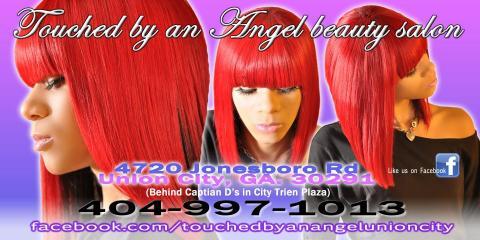 Touched By An Angel Salon, Hair Salon, Health and Beauty, Union City, Georgia