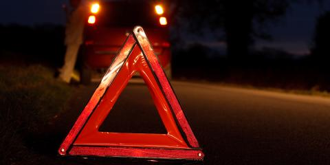 How to Stay Safe While Waiting for a Tow Truck at Night, Mountain Home, Arkansas