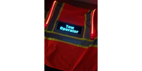 LED SAFETY VEST Fire Police EMS Sheriff Tow Operator & More, Russellville, Kentucky