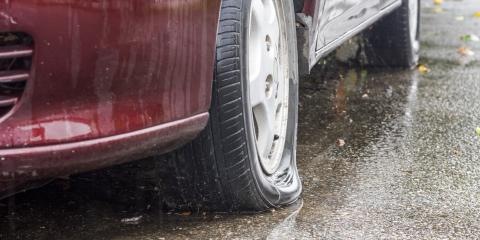 3 Reasons to Never Drive on a Flat Tire, Russellville, Arkansas