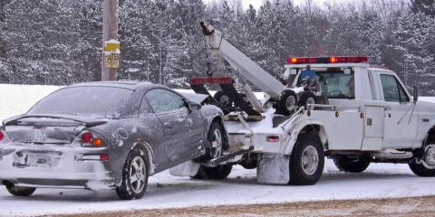 Top 3 Reasons Emergency Towing Is Essential During the Winter, Greece, New York