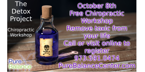 Chiropractic Workshop: The Detox Project, Manhattan, New York