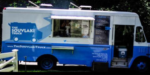 Welcome the Souvlaki Food Truck, Shanghai MKS's New Custom Food Truck, Brooklyn, New York