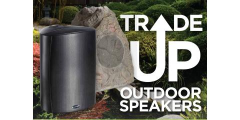 TRADE UP OUTDOOR SPEAKERS, Montgomery, Ohio