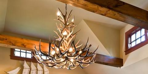 Last Week to get 15% Off Antler Chandeliers!, ,