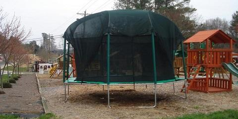 Should You Leave Your Trampoline Up During Winter?, Alpharetta, Georgia