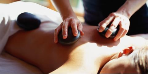 Warm up with Hot Stone Massage, Perry, Indiana