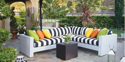 how to arrange patio furniture & backyard accessories - watson's