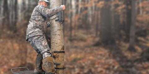 A Helpful Primer on Setting Up a Treestand Correctly, Garfield, Michigan