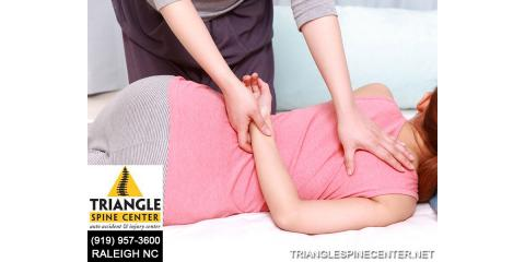 What Is A Spinal Adjustment?, Raleigh, North Carolina