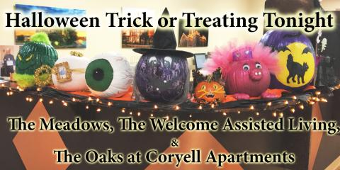 CMHS Residence's Trick or Treating & Parking Notice, Gatesville, Texas