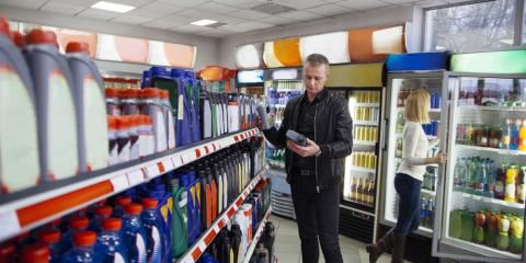 Top 3 Items Consumers Buy When Visiting a Convenience Store, Lynne, Wisconsin