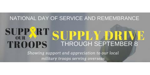 Support Our Troops & Enter Into a Drawing For a $25 Game Card, St. Peters, Missouri