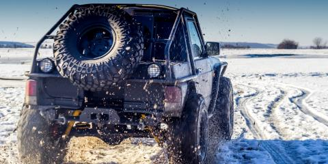 5 Essential Off-Roading Tips for the Winter, Troy, Ohio