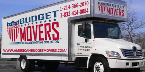Save on Moving Services With American Budget Movers , Addison, Texas