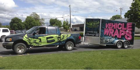 Vehicle Wraps: Effective Small Business Advertising for Any Market, Kalispell, Montana