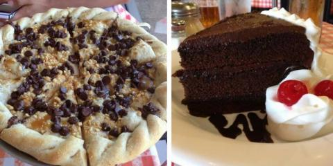 Try These Sweet Dessert Pizzas From Oahu & Kauai's Best Pizzeria , Ewa, Hawaii