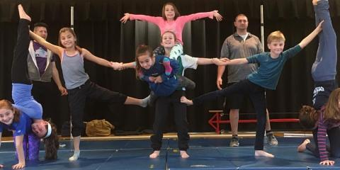 Help Build Your Child's Confidence With Circus Classes, Robertsville, New Jersey