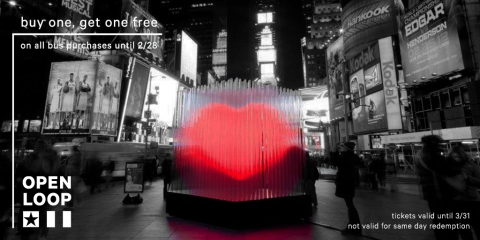 Love NYC? Score BOGO Tickets For an Unforgettable Valentine's Sightseeing Date! , Manhattan, New York